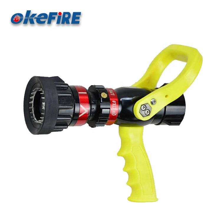 OKEFIRE Fire Fighting Spray Jet Fire Hose Nozzle With Pistol Grip