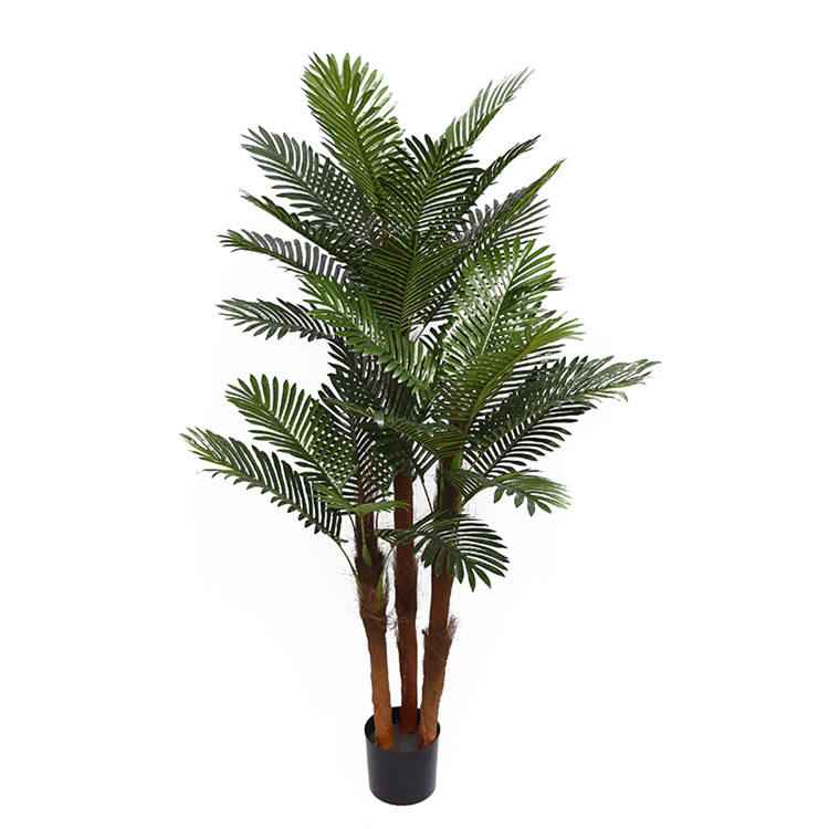 YD29510 Hottest 220センチメートルHeight Artificial Potted Palm Tree Outdoor Garden Green Plant