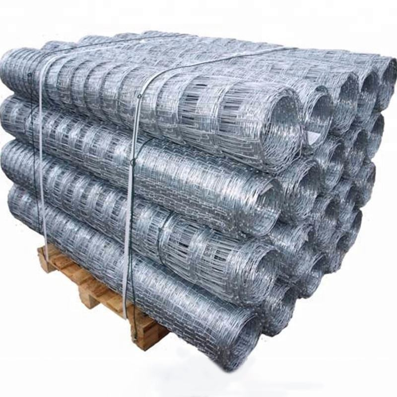 Renewable Sources Wire Mesh Fence Price Cheap Galvanized Iron Wire Mesh Cattle / Horse / Deer / Field Fence