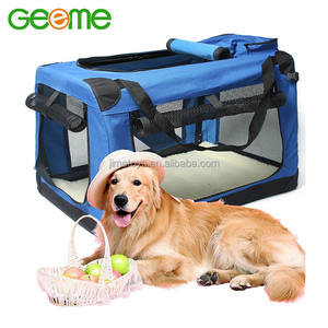 JT7002 Folding Portable Dog Pet Carrier with Fleece Mat