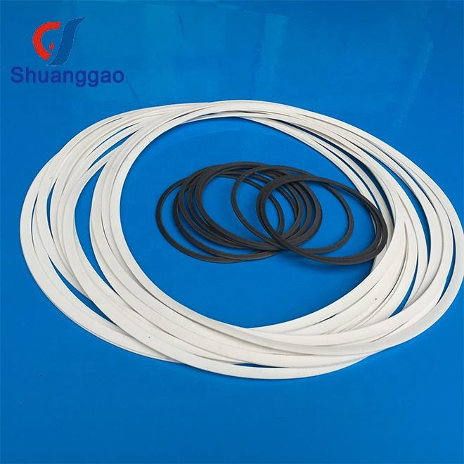 Filled PTFE solid PTFE back-up rings