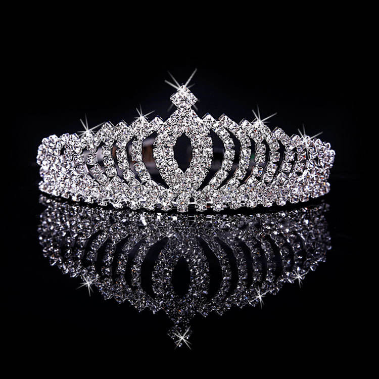 Lanyue Handmade Headdress Bride Wedding Accessories Bridal Hair Accessories Crystal Tocado Novia Wedding Hair accessories