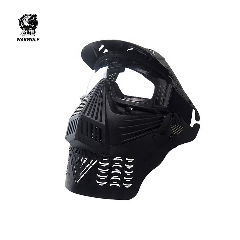 K2 high quality air soft tactical military full face paintball mask goggles with protective feature