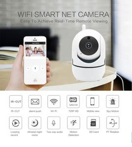 P2P Smart Wireless IP Camera Cloud 1080P Intelligent Auto Tracking Of Human Home Security Surveillance Night Vision