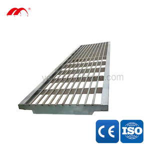 Drainage Channel Stainless Steel Grating Grill Outdoor Drain Cover