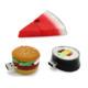 Food usb flash drive creative hamburger sushi watermelon pendrive 4gb 16gb 32gb 64gb 128gb memory stick u disk gift toy drive