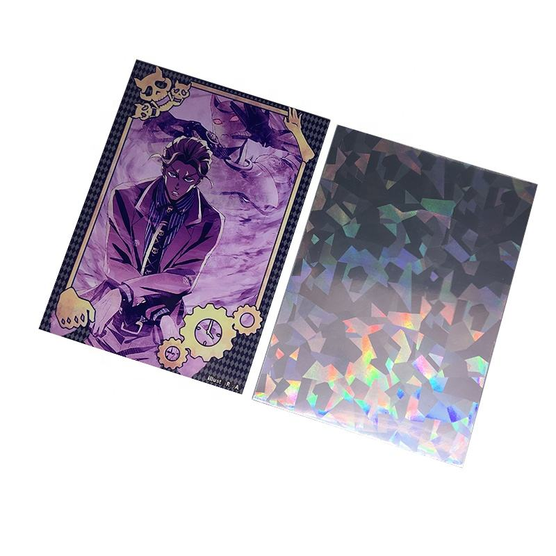 Print Hologram Art Printing Card Sleeves Import Cheap Goods from China