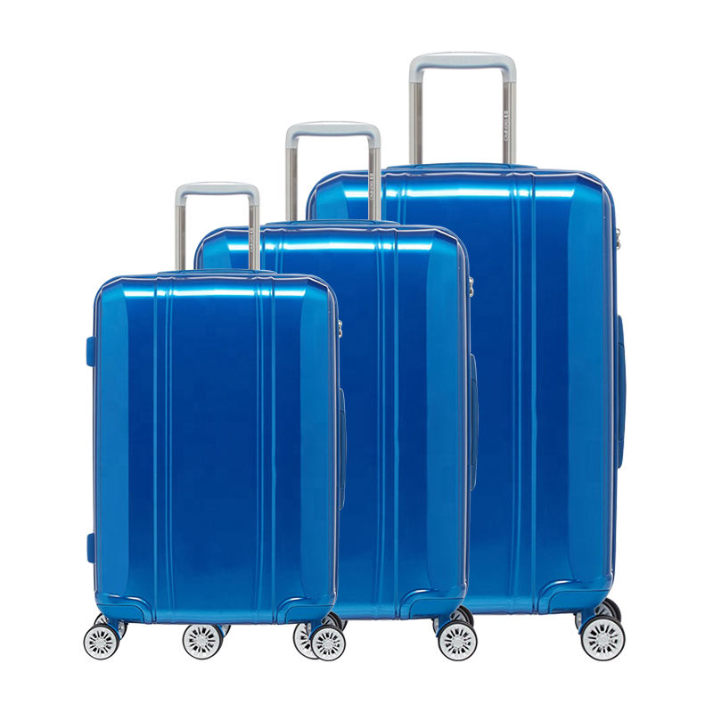 Hot Polycarbonate Zipper Closure Type Trolley Luggage Bag Suitcase Business Trolley Luggage Cheap