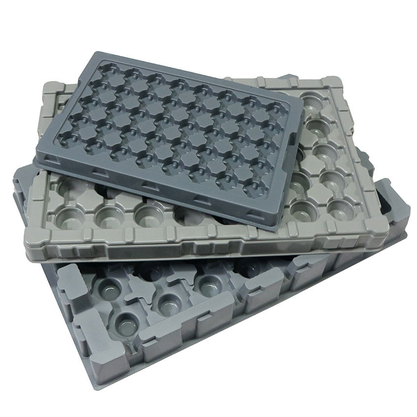 Hot Sale Plastic Custom Machinery Industry Equipment Parts Packaging Tray