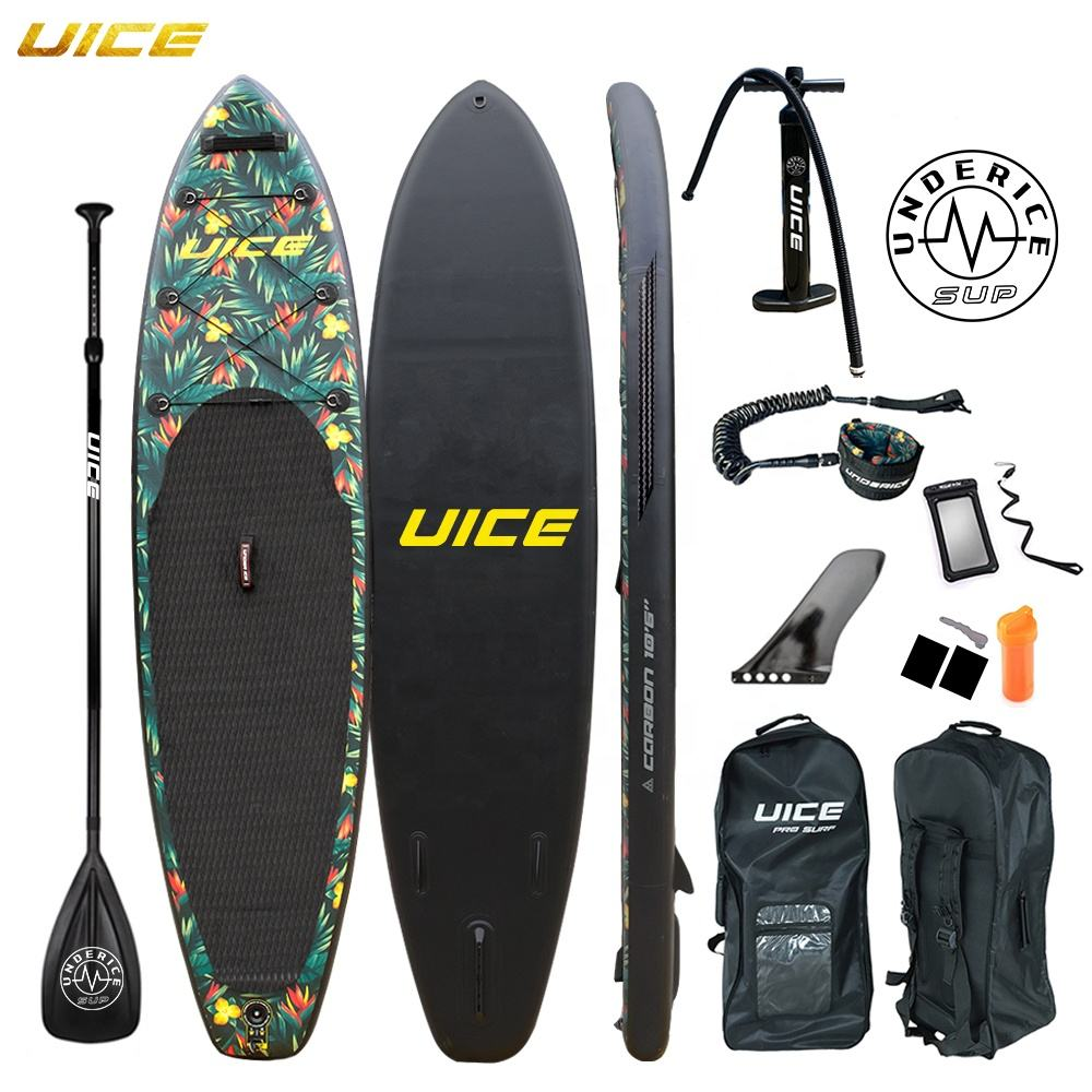 2020 New Design Custom Foldable Inflatable Sup Stand Up Paddle Board iSUP Air Board for Kayaking Fishing Yoga Surf