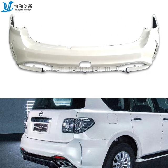 High Quality PP Body Kit Modified Rear Bumper Car Accessories for 2020 Patrol
