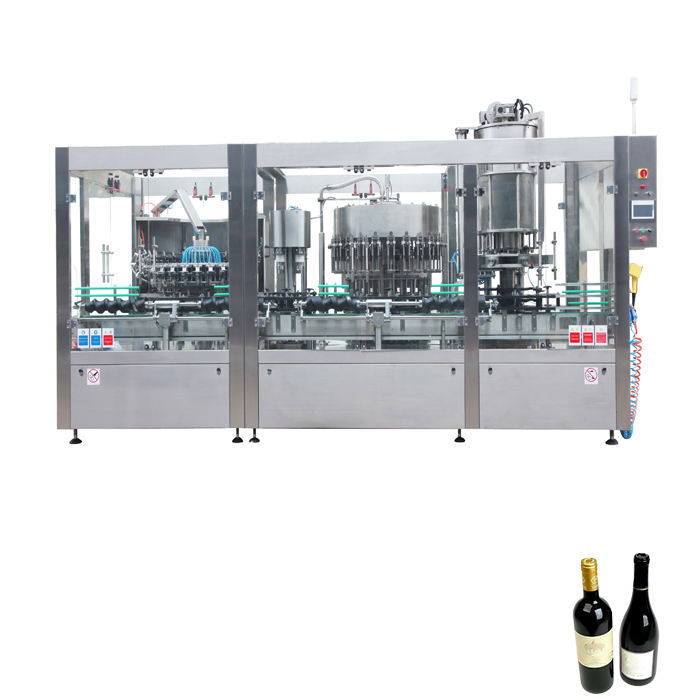 Support customization liquid filler wine juice and wine bottling equipment and 12 nozzle sparkling wine filling machine