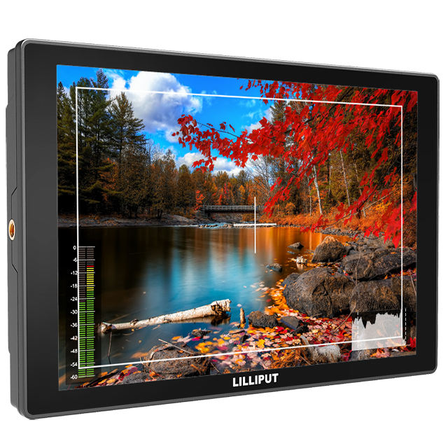 10.1 inch IPS On Camera Monitor with 4K HDMI SDI Input Output Field Monitor camera top monitor
