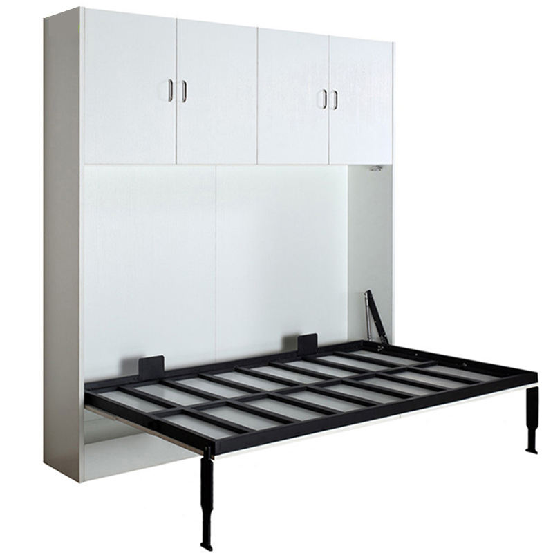 High quality folding wallbed,hidden wall bed murphy bed with sofa,space saving bedroom furniture