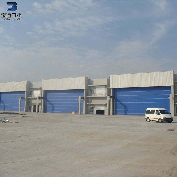 Industrial Hangar Door Price Factory Sale Best Service Fabric Fold Up