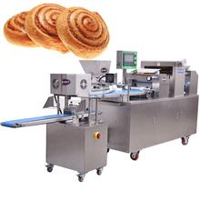 High Precision Cinnamon Bread Roll Making Machine