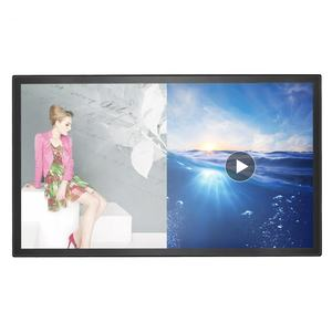 led video wall mounted smart digital board 10 points IR multi touch display