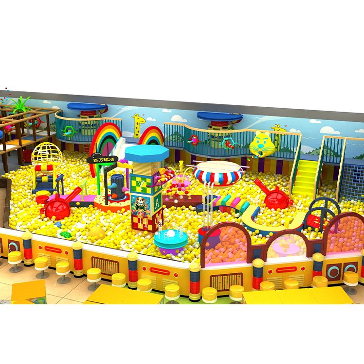 Factory Hot Sales Children Commercial Indoor Playground Equipment Kids Amusement Park