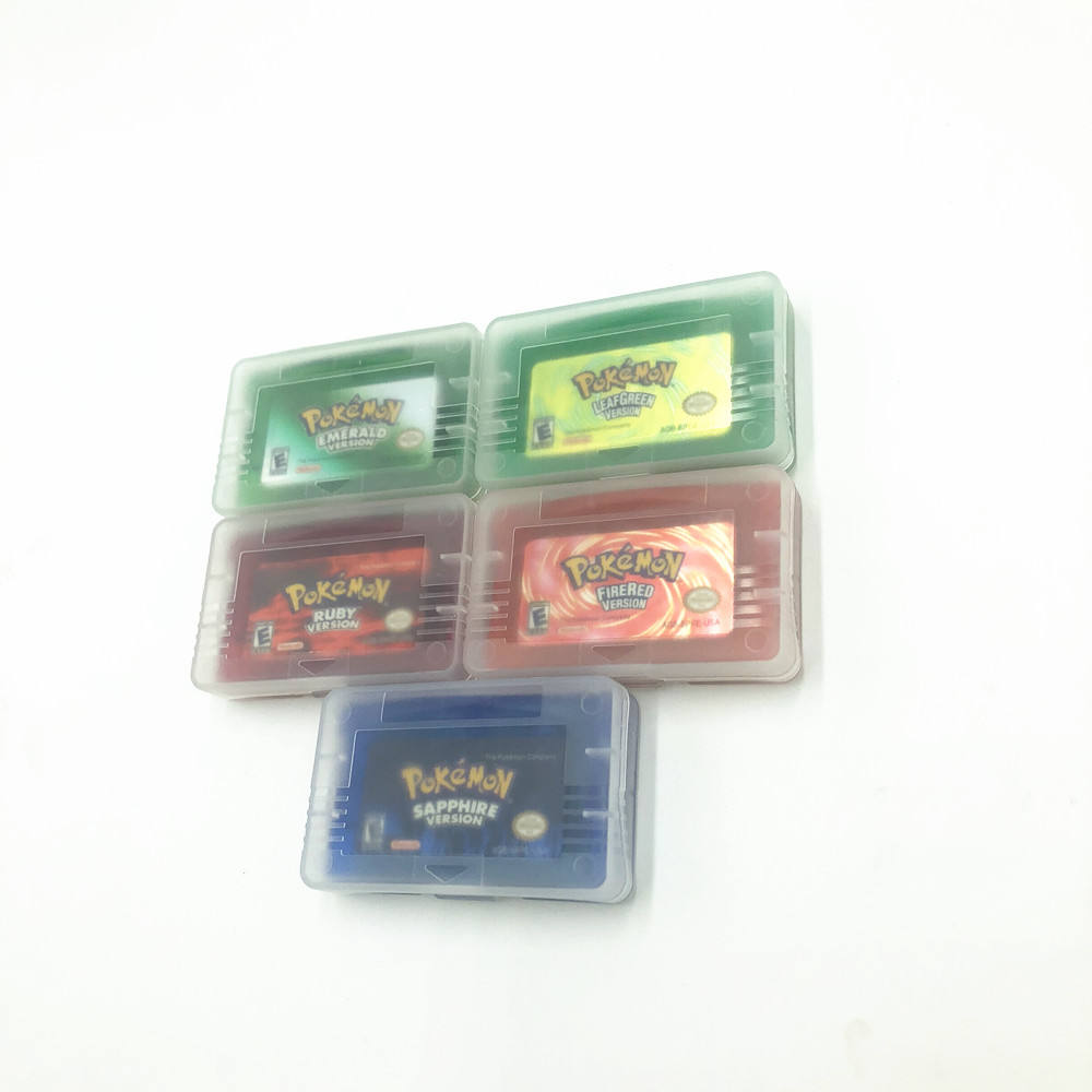 High Quality 2014 hot selling for gba games for gba cards Pokemon emerald