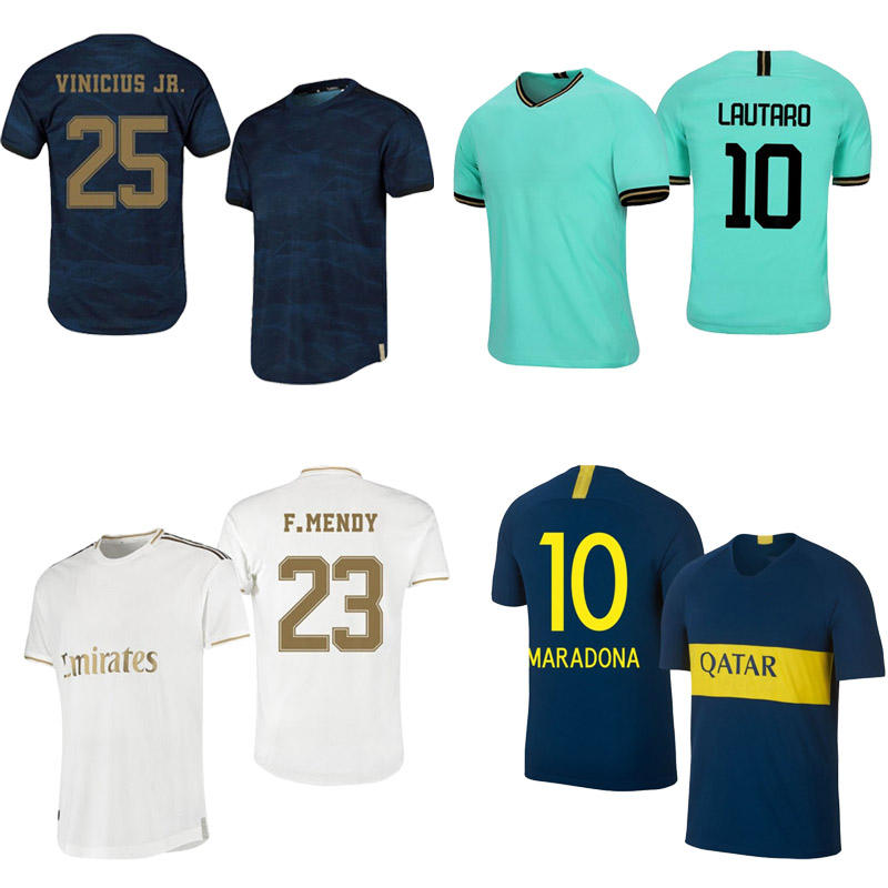 Top quality men custom name number soccer jersey set real city uniform thailand football shirt 2020 kits