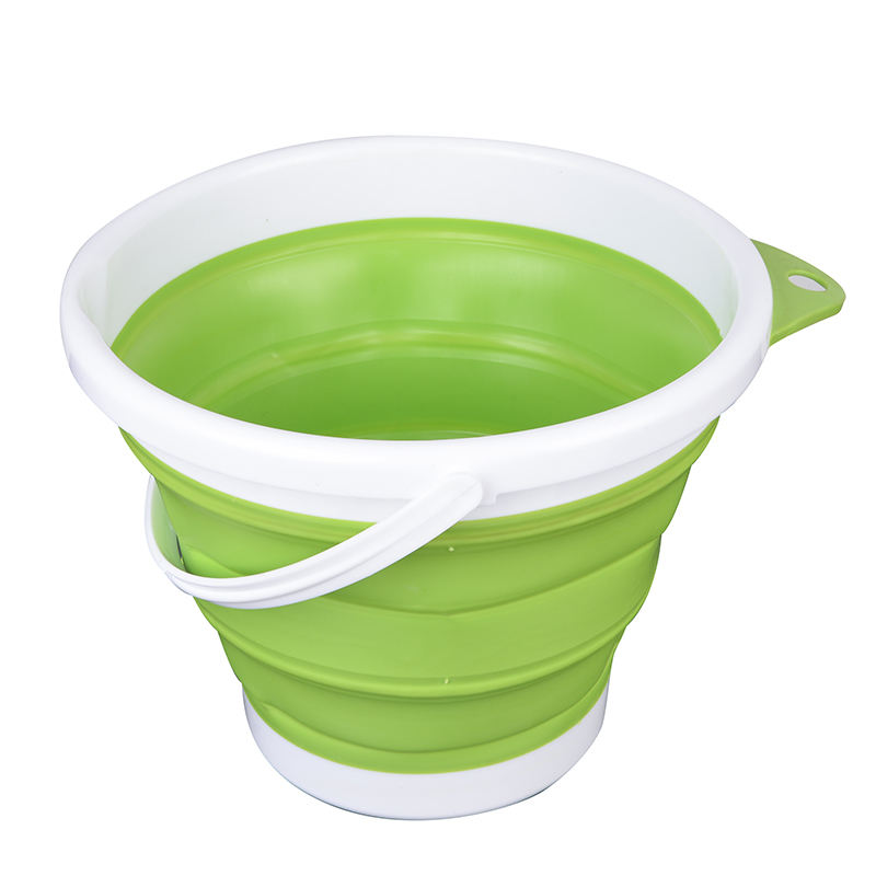 5L 10L Household Garden car wash fishing portable Retractable Folding flexible Foldable Collapsible Silicone Bucket