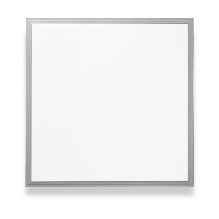 600*600 einbau LED-Panel licht (backlit) <span class=keywords><strong>50W</strong></span> Weiß/Silber <span class=keywords><strong>Rahmen</strong></span>