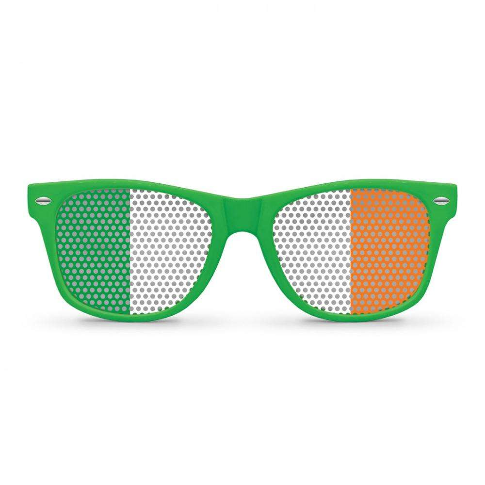 St Patricks Day Party Decorations Sunglass Adult Fancy Ireland Flag Sunglass