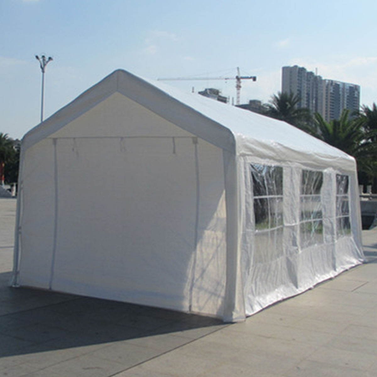waterproof high snow load cheap carports/mobile carport/temporary carports