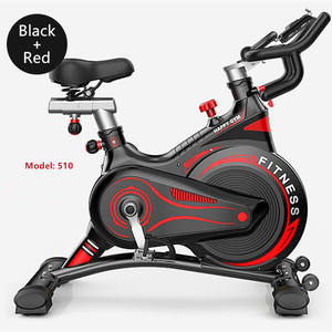 Home use cycling exercise magnetic spin bike with heart rate monitor