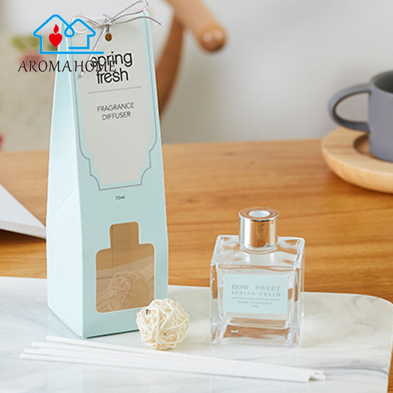 Wholesale organic reed diffuser bottle stopper container in bathroom