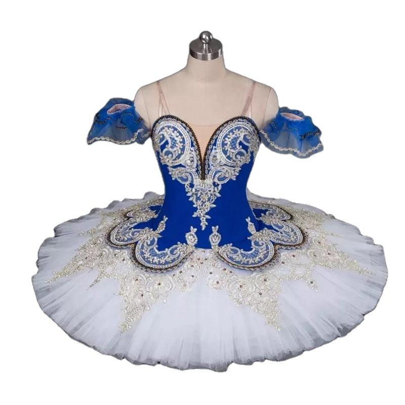 Adult Swan Lake Girls Professional Blue Ballet Costumes Ballerina Tutu Skirt Classical Ballet Tutu Ballet Costume