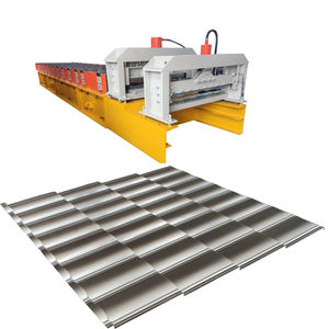 Mesin genteng metal steel roof tile machine forming sheet roofing equipment for Indonesia
