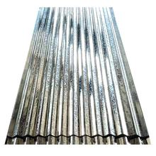 Iron Roofing Sheets, Color Coated Galvanized Corrugated Steel for Construction