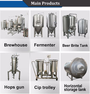 500L Home beer and wine making machine home made fermentation system