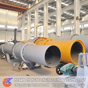 Rotary kiln furnace Incinerator for industrial waste treatment