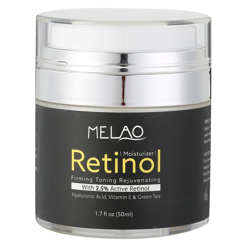 Cuidados Com o rosto Retinol Anti-rugas Creme para O Rosto de Ácido Hialurônico para o Envelhecimento Da Pele