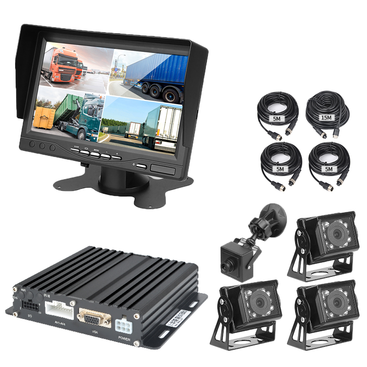 4 Channel 1080P Mobile DVR Support 3G 4G WiFi GPS MDVR With Car/Bus/Truck/Vehicles Camera Recorder