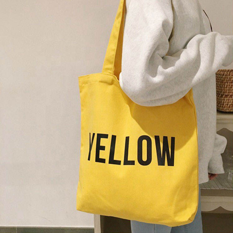 2020 Wholesale Customized Printed blank canvas bag, Promotional bags cheap blank canvas cotton tote bag