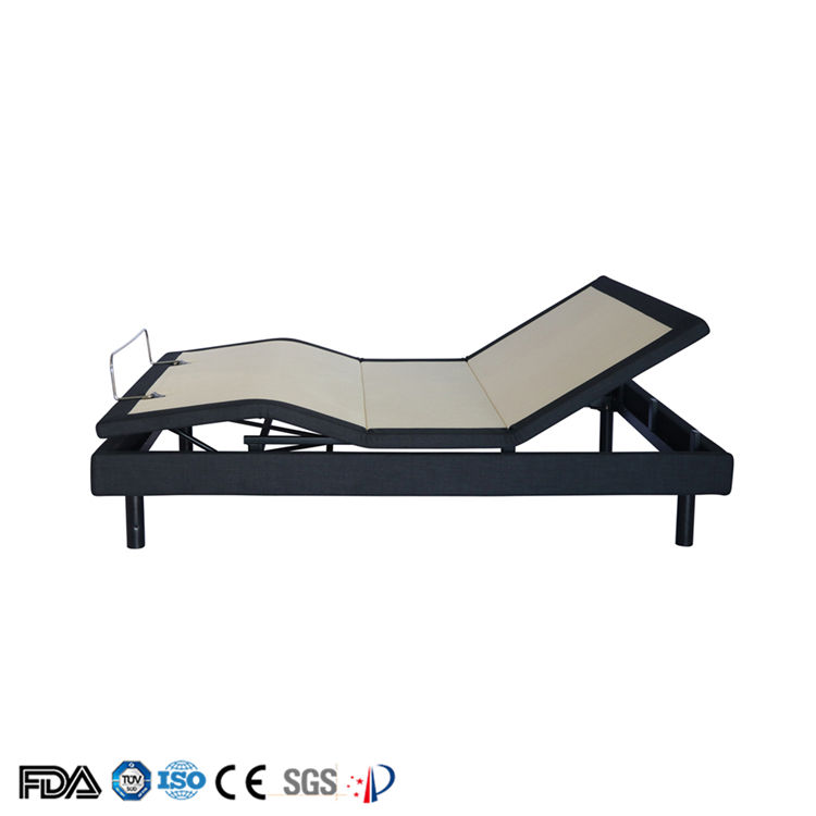 Free Design 5421 Human Curve Fit Modern Adjustable Electric Vibration Massage Bed with Remote Control