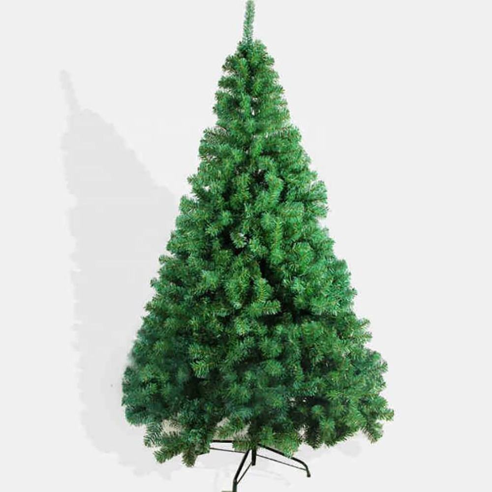 Commercio all'ingrosso Coperta di Natale decor OEM di plastica PVC artificiale albero Di Natale
