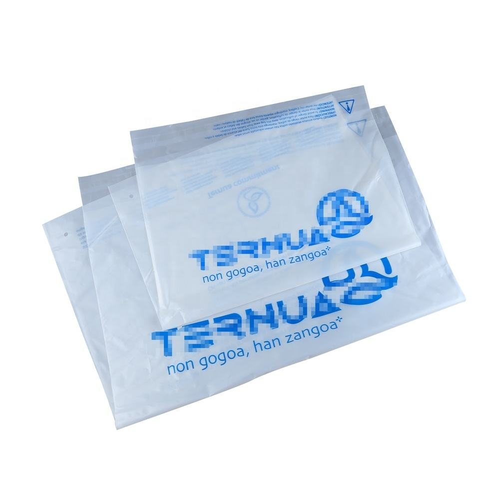 100% eco friendly compostable self adhesive bags custom design corn starch