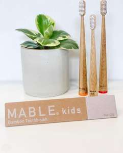 New arrival high quality soft baby bamboo toothbrush