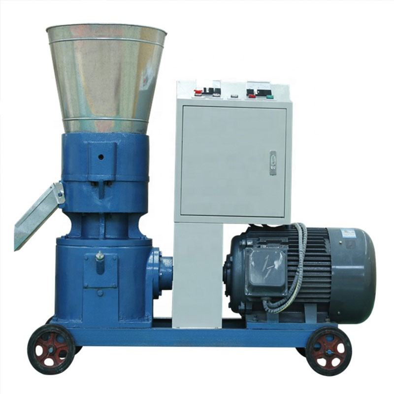 Mobile Press Movable Multi-Function Small Type Biomass Powder Used Pellet Mills for Sale