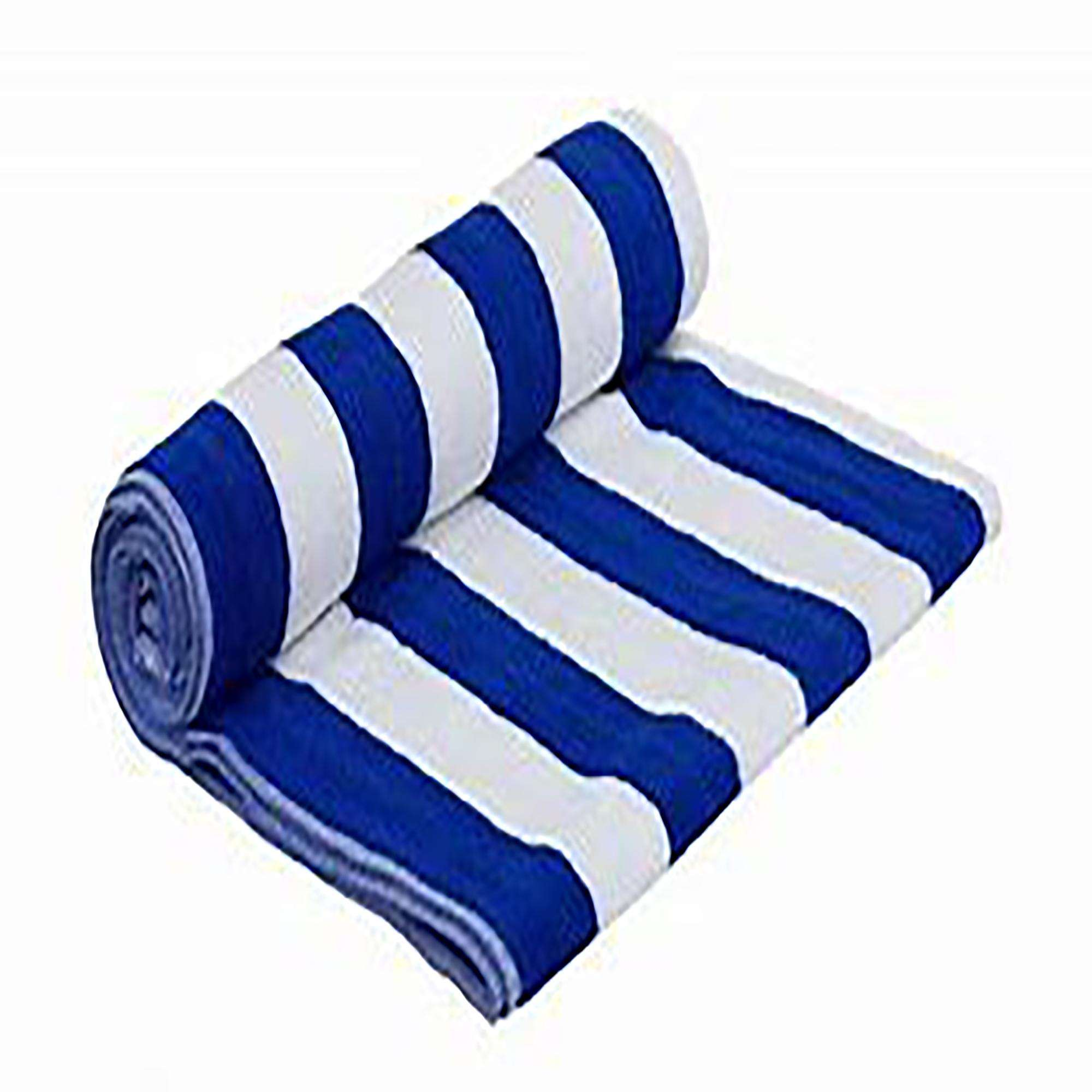 Blue Strip Pool Towel