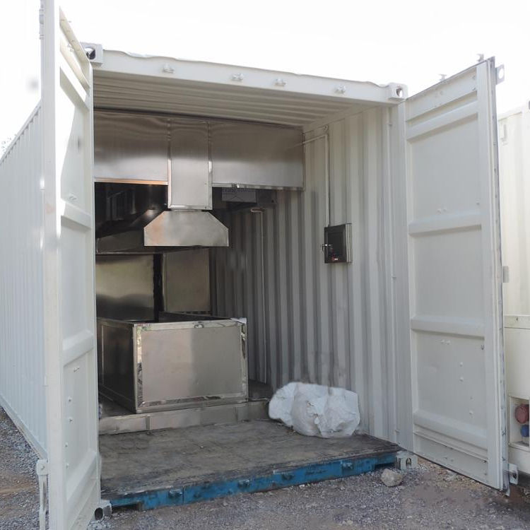 2021 Cremation Machine for Human Container Type Automatic Always Negative Pressure Burning 1000 Celsius Degree CE 380V 50/60HZ