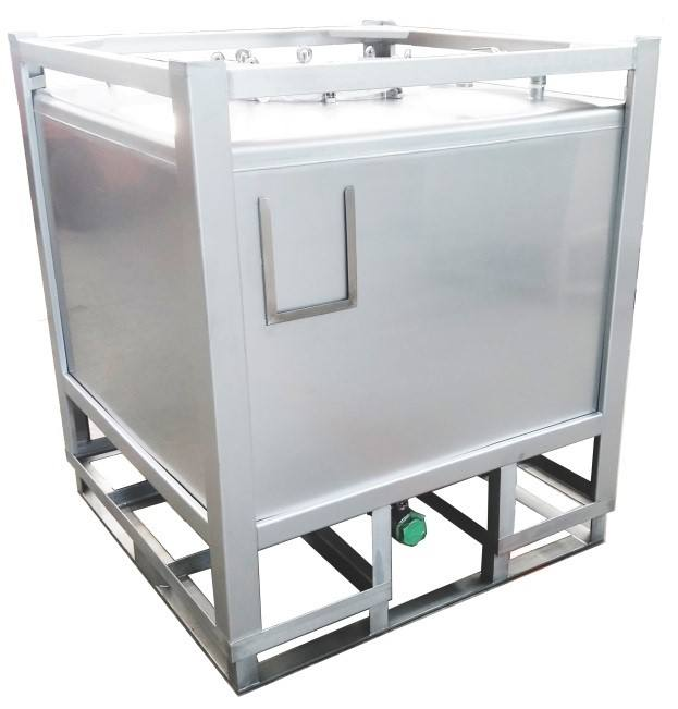 Factory Price Stainless Steel 1000 Liter IBC Tote Tank