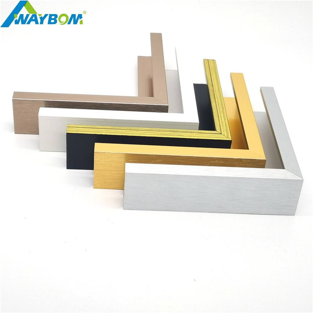 Wall Moulding Collage Acrylic Poster Frame Gold Picture Frame Wall Display Photo Frames