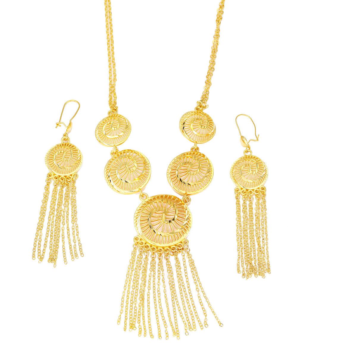 China India Gold Jewelry Set, China India Gold Jewelry Set