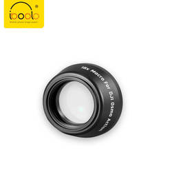 Iboolo Latest design 4K optics waterproof lens for OSMO Action HD 180 degree fisheye lenses  zoom camera 15X macro lens