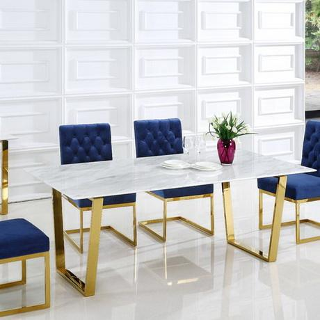 Modern Italian Marble Dining Table Set Coffee Table Chair, High Quality Dinning Table Set,Modern Design Dining Table
